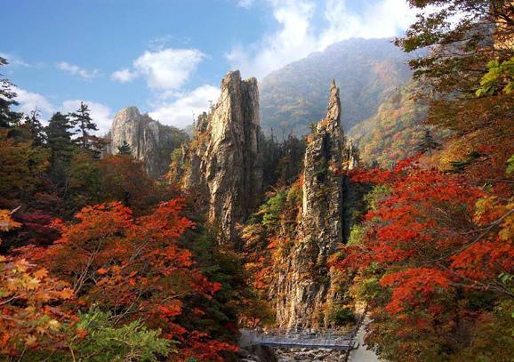 北韓金剛山