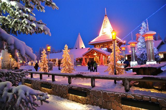 芬蘭聖誕村