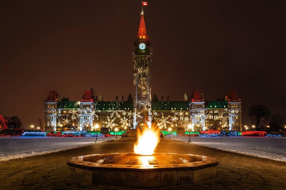 加拿大點燈儀式