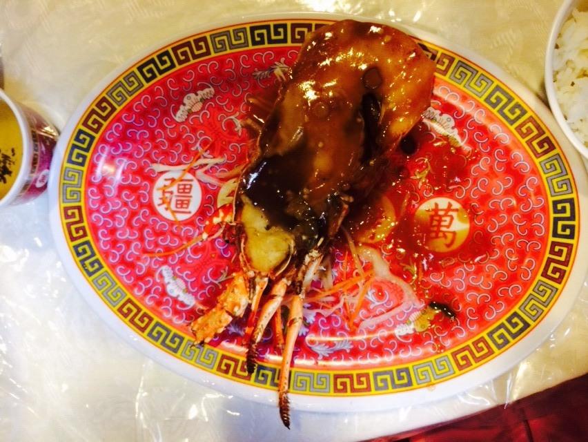 姵萱-墨爾本中式龍蝦餐01