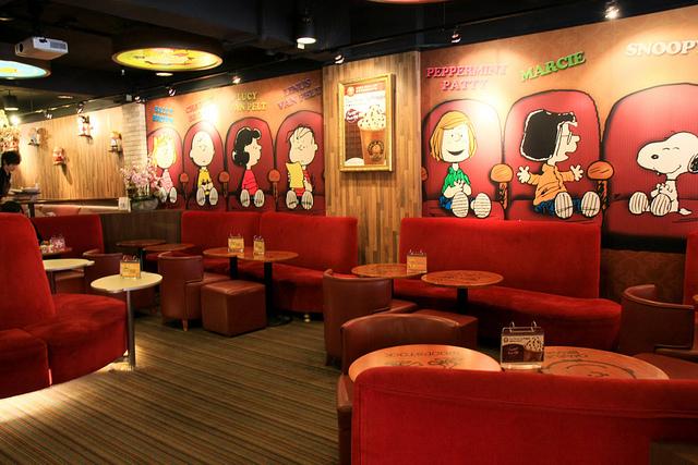 查理布朗咖啡店03