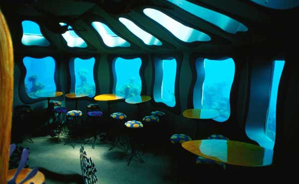 The Red Sea Star Underwater Restaurant