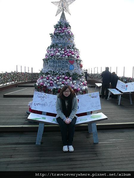 聖誕樹+妹妹
