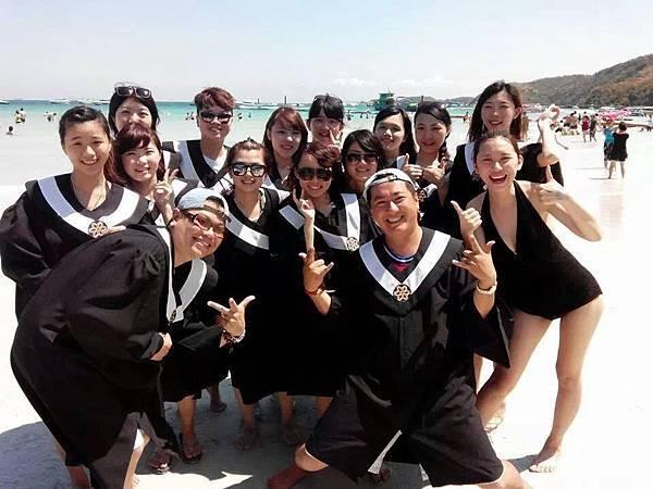 畢旅學生團