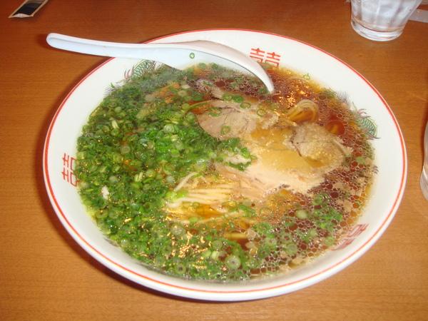 抵達廣島的第一餐-拉麵宵夜
