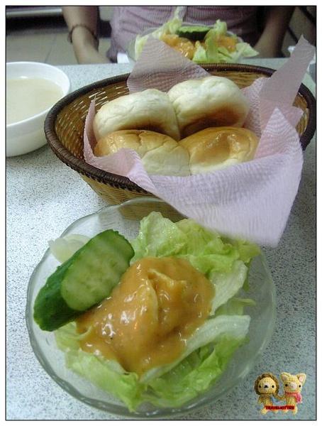 老美牛排-沙拉&麵包.jpg