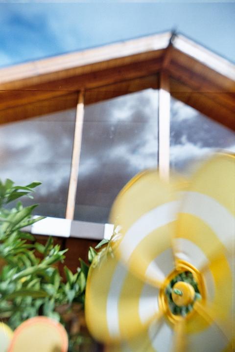 試拍 - 陽光下的風車