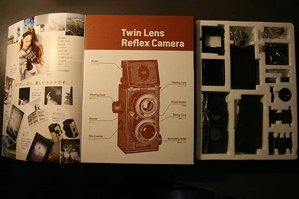大人的科學 35mm 雙眼相機 (TLR) - 拆封