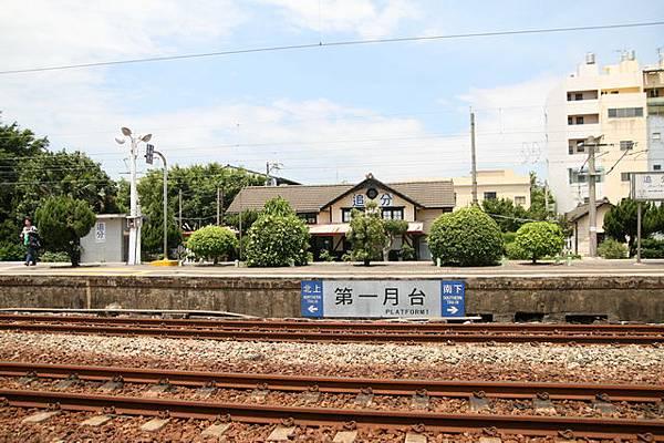 追分車站月台