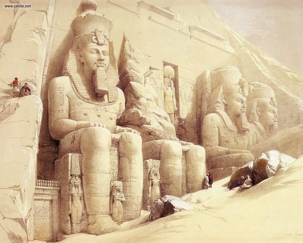 David_Roberts_pg46_The_Great_Temple_Of_Abu_Simbel_