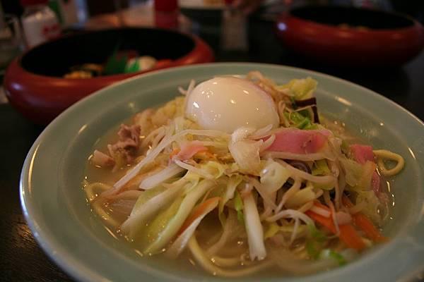 小濱什錦麵是日本三大什錦麵之一,泡完湯千萬別忘記來上一碗