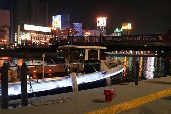 那珂川水上巴士是今年春天才剛開始的新設施。
