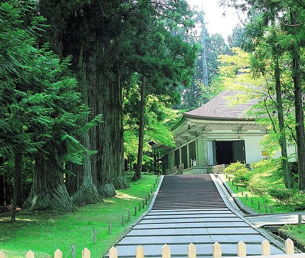 甫於今年6月26日登錄世界文化遺產的平泉中尊寺。