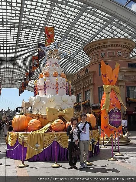 10周年慶蛋糕