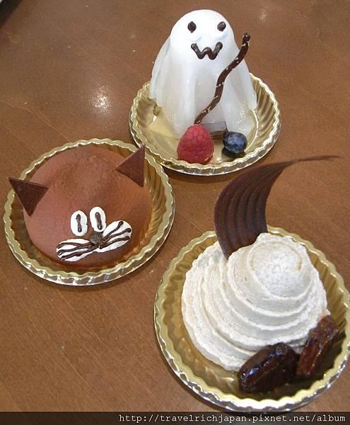 甜點屋的萬聖節甜點