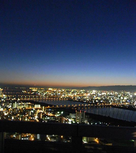 空中庭園展望台璀璨夜景