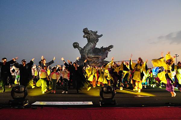 2012鹿港燈會-yosakoi