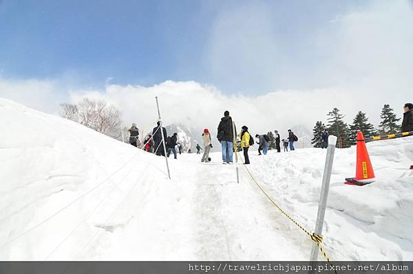 黑部平雪景2