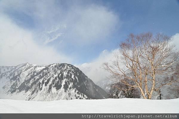 黑部平雪景