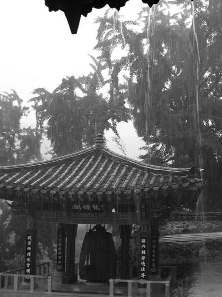 鳳停寺的鐘閣