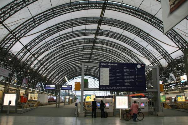 標準的歐式火車站