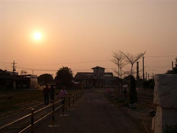 黃昏與鐵道