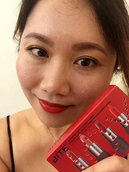 Bite Beauty唇膏試色 號稱天然可以吃的唇膏