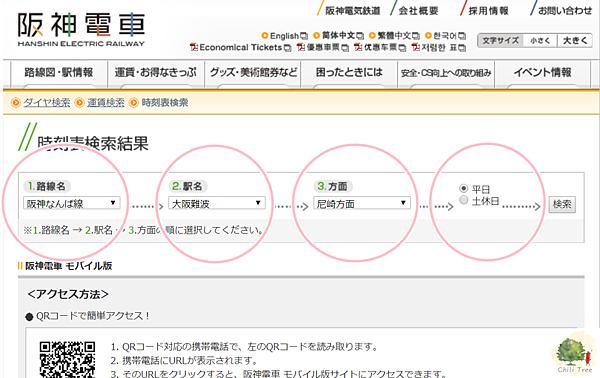 阪神電車檢索搜尋