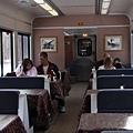 火車上的餐車車廂