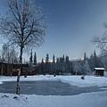 還沒凍夠的溜冰場