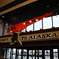 抵達阿拉斯加,安哥拉治機場