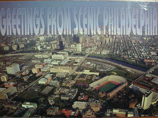來自 加拿大 Nova Scotia 不過為什麼會寄費城的明信片呢?