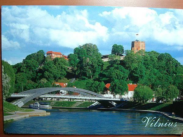 來自 立陶宛,這是她們的首都維爾紐斯