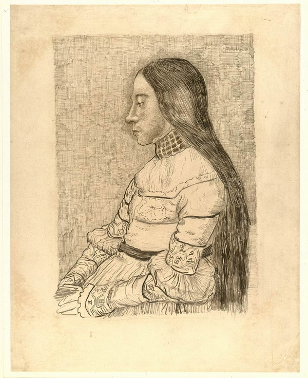 1881-The-daughter-of-Jacob-Meyer(after-Bargue-after-Holbein).jpg