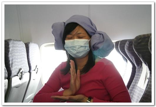 打擊H1N1羊角頭戴法2