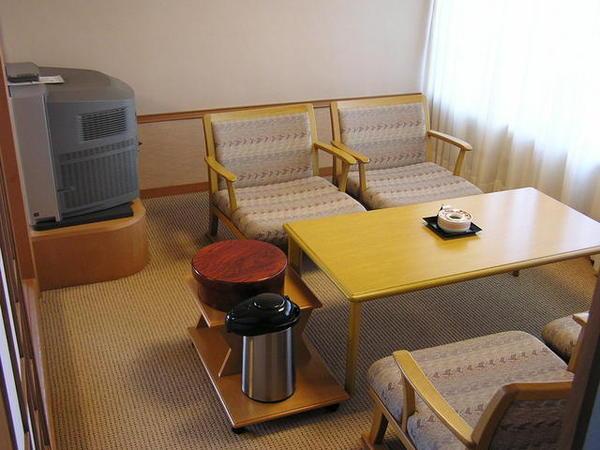 加賀屋房間的小客廳