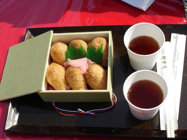 午餐,豆皮壽司.JPG