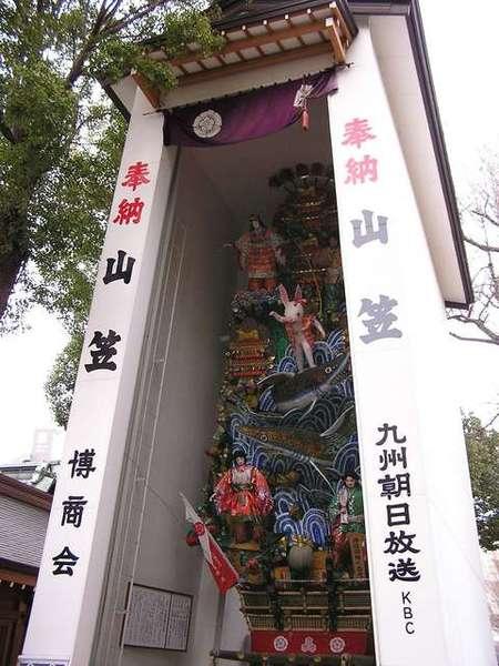 櫛田神社的山笠