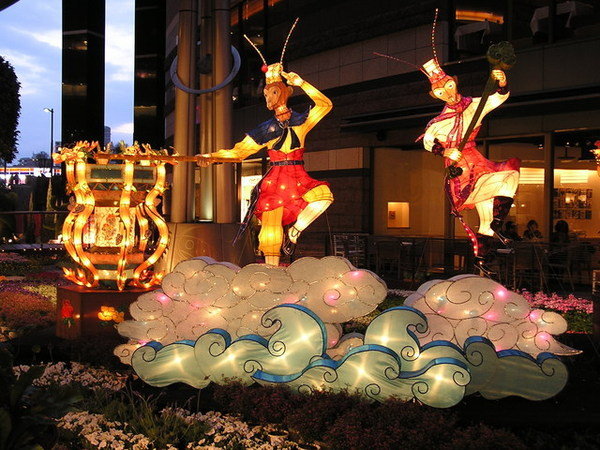 台灣的燈飾
