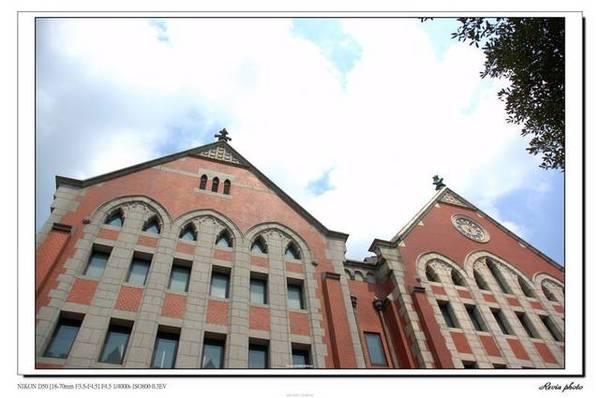 慶應大學三田校區,舊圖書館,是文化財了呢