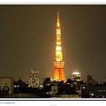 六本木hills看到的東京tower