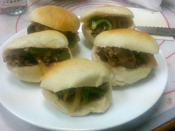 Lamb burger 9