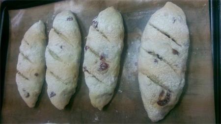 Cranberry rustic bread 8