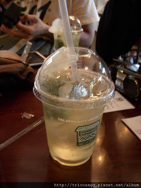 1杯5500韓幣抹茶