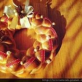 聖誕花圈2