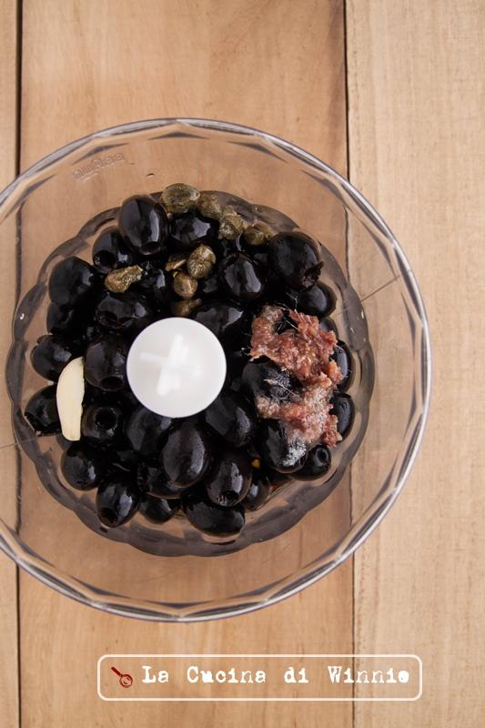 黑橄欖醬螺旋麵-2