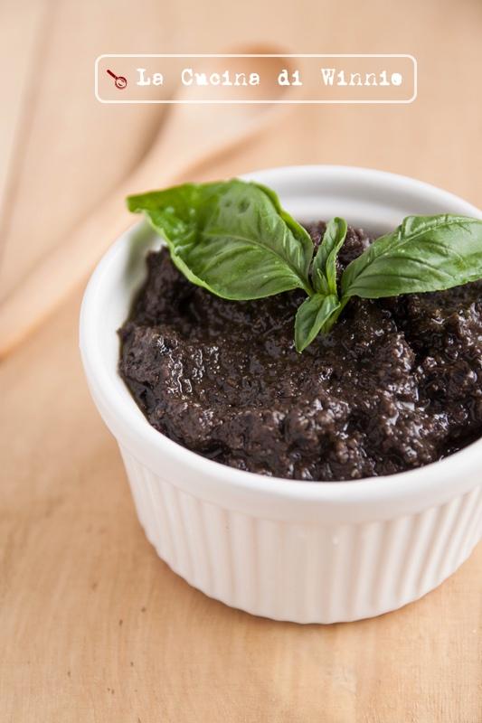 黑橄欖醬螺旋麵-3