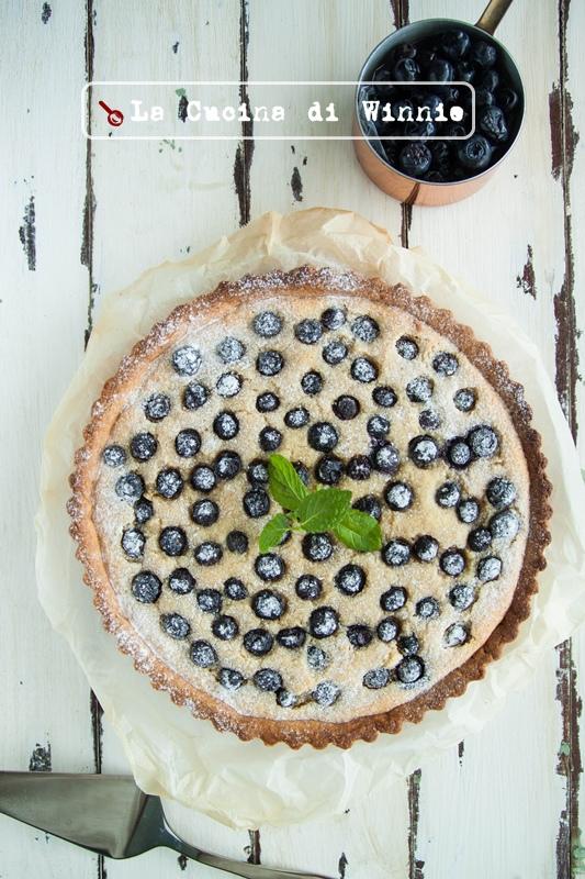 藍莓杏仁塔-1