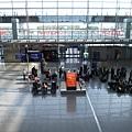 到達!法蘭克福機場
