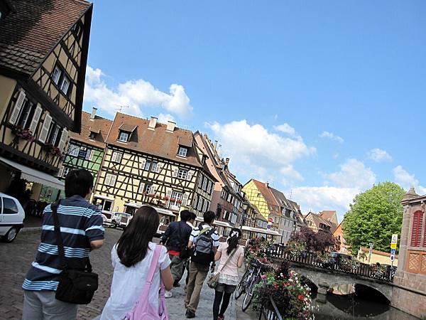 我覺得Colmar真的是一個很美的城市耶